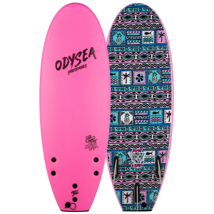 Catch Surf Odysea 5'0 Pro Stump Thruster JOB Surfboard 2021 - 5'0 in Pink