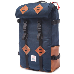 Topo Designs Klettersack 22L Backpack 2021 in Navy   Leather