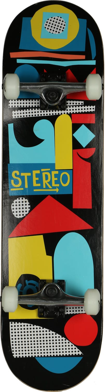 Stereo Collage Skateboard Complete