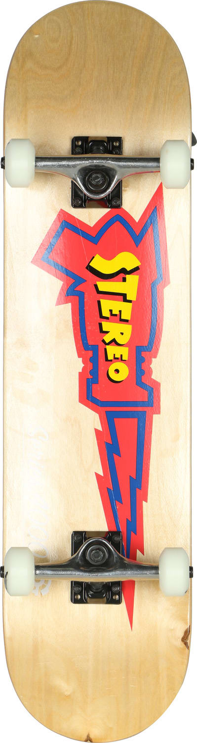 Stereo Raygun Skateboard Complete