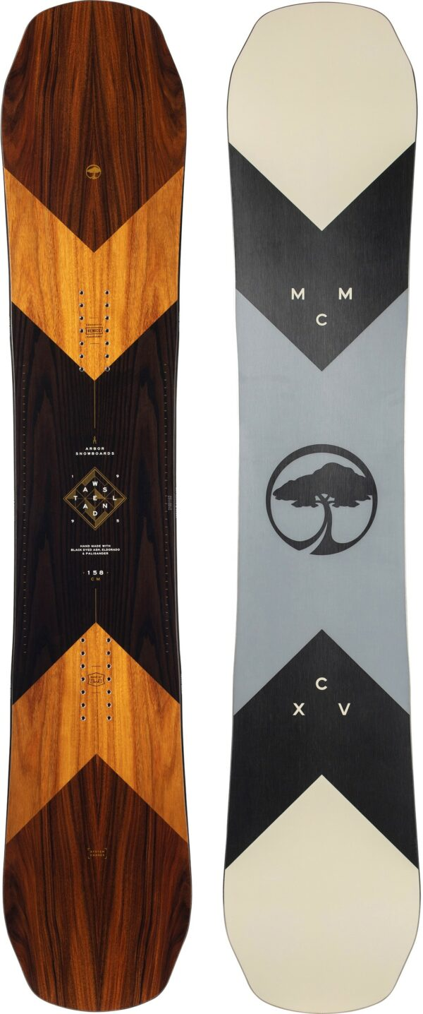 Arbor Wasteland Camber Midwide Snowboard