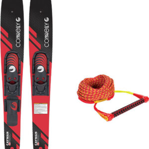 Connelly Cayman Combo Skis w/ Adjustable Bindings + Mainline