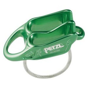 Petzl Reverso Belay Device One Size Green