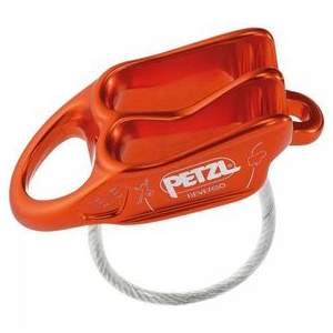 Petzl Reverso Belay Device One Size Red