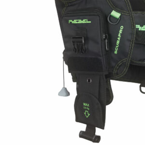 Rebel BCD Weight Pocket Kit, Small Diver